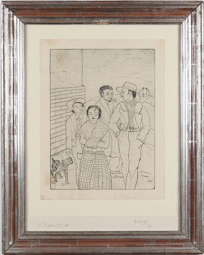"""Bruno Voigt, '""""Zigeuner""""', 1931"""