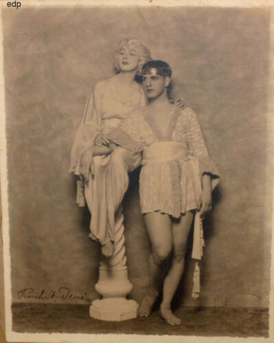 Nickolas Muray, ' RUTH ST. DENIS AND TED SHAWN - SIGNED PHOTOGRAPH', ca. 1920-1930