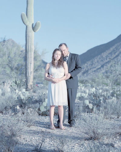 David Magnusson, 'Eddika Grajeda, 17 years & Philip Grajeda. Tucson, Arizona.'