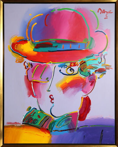 Peter Max, 'Zero in Purple', 1994
