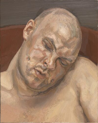 Lucian Freud, 'Leigh Bowery', 1991