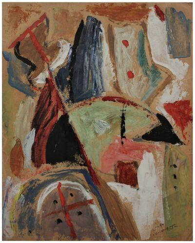 Esteban Lisa, 'Juego de líneas y colores', 1955
