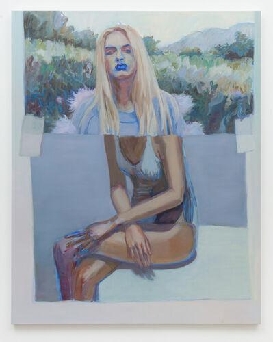 Janet Werner, 'Bather (Blue Lips)', 2018