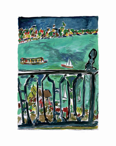Bob Dylan, 'Vista From Balcony - 2008', 2008