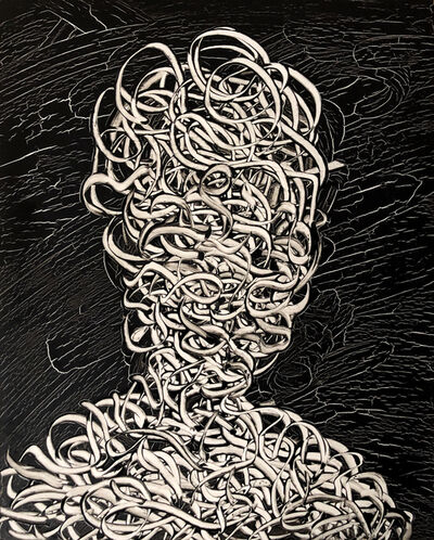 Emil Alzamora, 'A Swim In The Pass', 2019