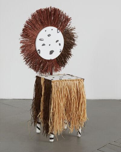 Margaret Lee & Emily Sunblad, 'Zebra Chair #2', 2015