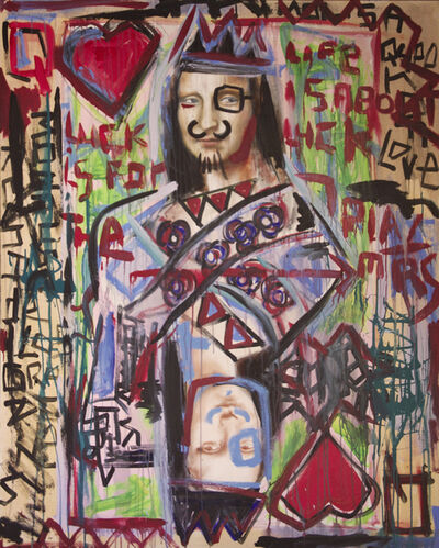 Domingo Zapata, 'Mona Lisa Queen of Hearts Asia', 2013