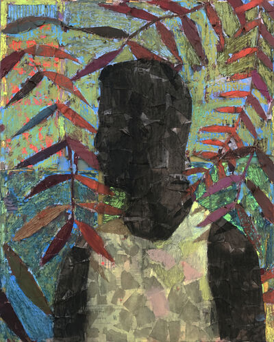 Derek Fordjour, 'No. 61', 2017