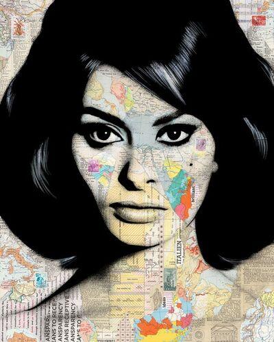 André Monet, 'Sophie Loren', 2020