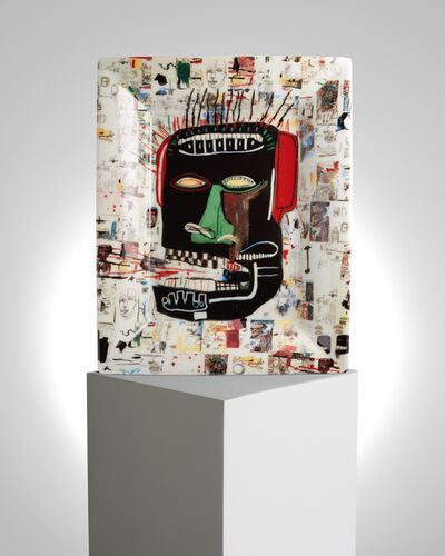 "Jean-Michel Basquiat, '""Glenn"" Porcelain Tray', ca. 2019"