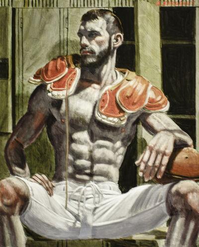 Mark Beard, 'Florent in the Locker Room', date unknown