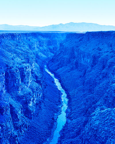 David Benjamin Sherry, 'Rio Grande Gorge, Rio Grande del Norte National Monument, New Mexico', 2017