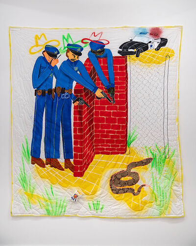 Alexis E. Mabry, 'The Cops', 2018
