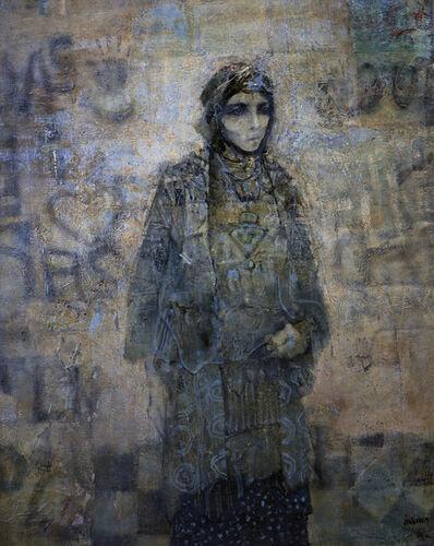 Mohammed Issiakhem, 'Femme et Mur', n.d.