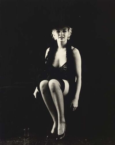 Milton H. Greene, 'Marilyn Monroe from The Black Sitting', 1956