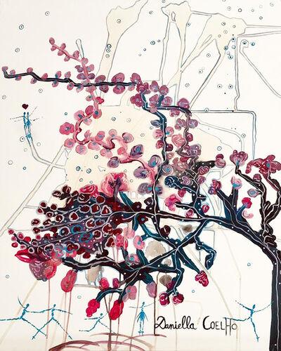 Daniella Coelho, 'Arbre de vie en fleurs et acrobates', 2019