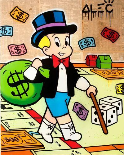 Alec Monopoly, 'Richie plays Monopoly ', 2019