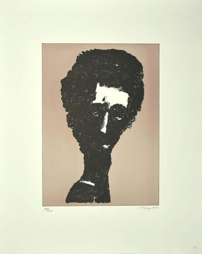 Mark Tobey, 'Portrait ', 1970