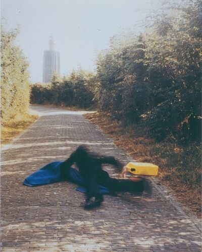 Bas Jan Ader, 'Pitfall on the way to a new Neo Plasticism', 1971