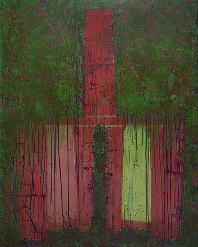 Mao Xuhui 毛旭辉, 'Venue to Bury, Red Back-chair', 2010