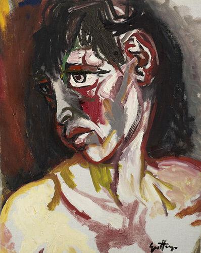 Renato Guttuso, 'Donna algerina', 1962