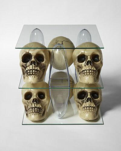 Patrick Jackson, 'Shelving Unit (Skulls)', 2020