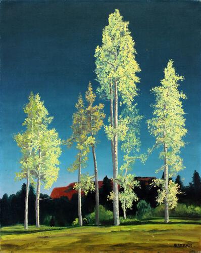 Emil Bisttram, 'Sentinels'