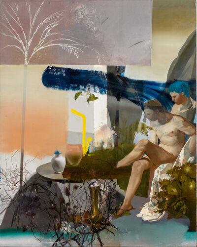 Patrícia Kaliczka, 'Self-Portrait as Diana contemplating on the Lack of my Femininity', 2017-2018