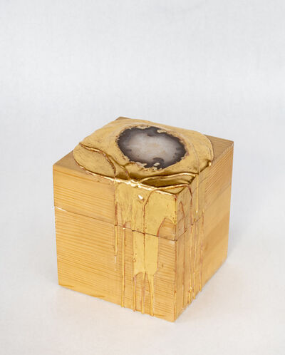 Nancy Lorenz, 'Ebony and Moongold Box', 2015