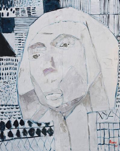 Alimi Adewale, 'A gaze into the past I', 2021