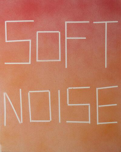 Scott Reeder, 'Untitled (Soft Noise)', 2012
