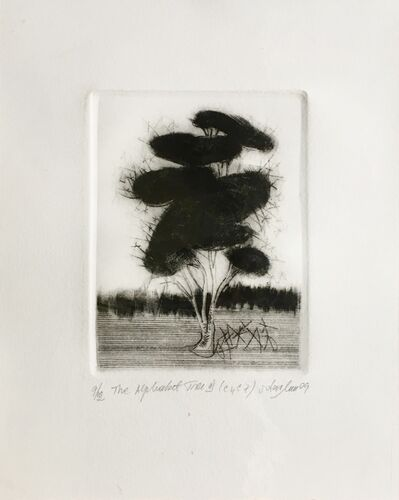 ortansa moraru, 'The alphabet tree III', 2009