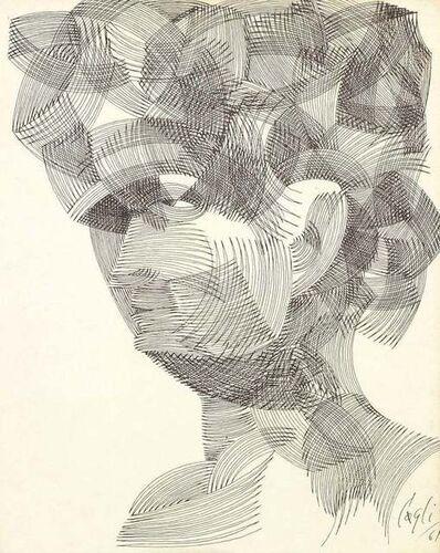 Corrado Cagli, 'Portrait', 1961
