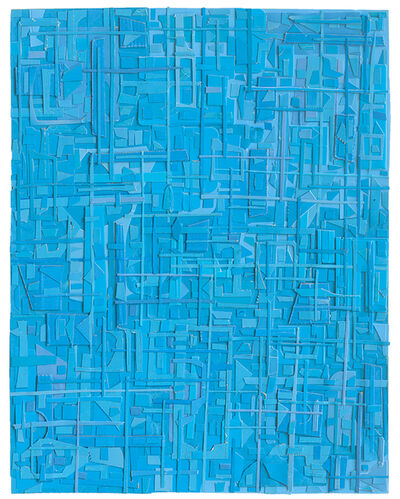 Matt Gonzalez, 'Blue, here-sidedness', 2019