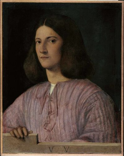 Giorgione, 'Portrait of a Young Man ('Giustiniani Portrait')', 1497-1499