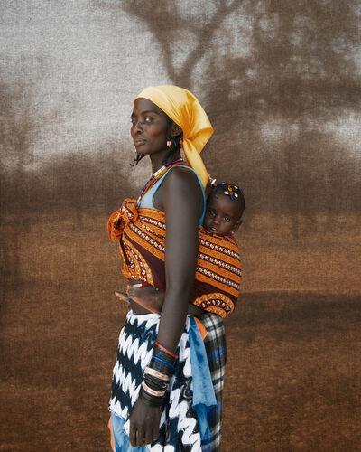 Christopher Rimmer, 'Ovazimba Woman & Baby, Namibia', 2016
