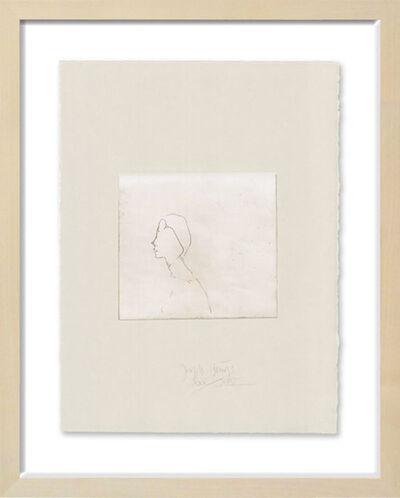 Joseph Beuys, 'Frauenkopf H-B', 1982