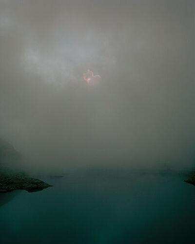 Max Kraanen, 'Lago del Gran San Bernardo', 2016