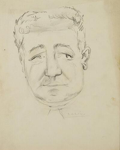 Marino Marini, 'Ritratto maschile'