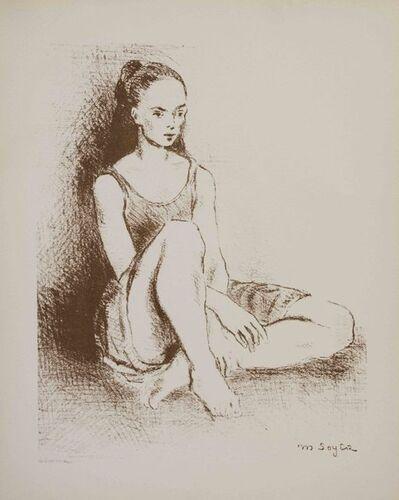 Moses Soyer, 'Ballet Dancer', 1968