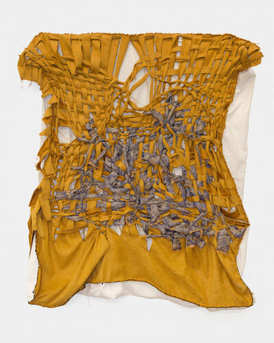 Akudzwe Elsie Chiwa, 'Ayive madhende ave magamba (What once were rags are now patches/heroes)', 2020