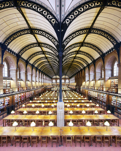 Reinhard Gorner, 'Sainte Geneviève II Library, Paris', 2018