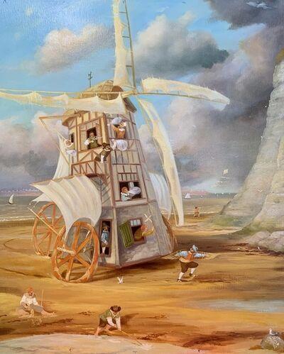 Valery Bagaev, 'Les chasseurs des vents', 2019