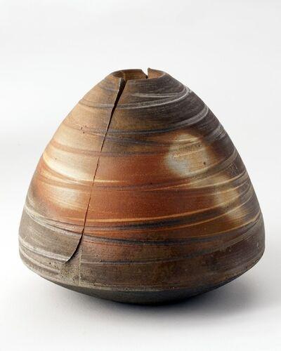 Eric Astoul, 'Vase échancré strié, ceramic', 2011