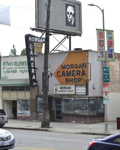 Joachim Brohm, 'Rudolf Schindler, Morgan Camera Shop, Los Angeles', 2015