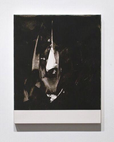 Michael Brennan, 'Grey Razor Painting (Achilles)', 2012