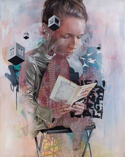 Herakut, 'Akut | The Reader', 2021