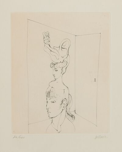 Hans Bellmer, 'A plate, from Alain Jouffroy, Les Anagrammes du Corps', 1973