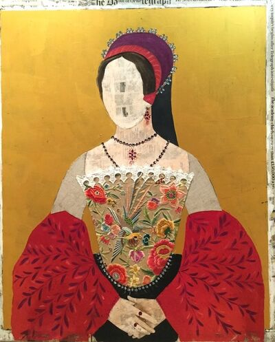 Maria Torroba, 'Golden Mary', 2017