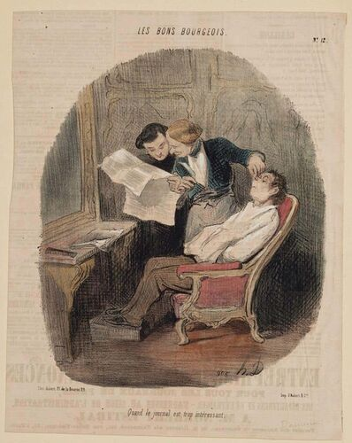 Honoré Daumier, 'The Good Bourgeois', 19th century